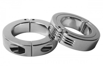 Locking Hinged Cock Ring- Small