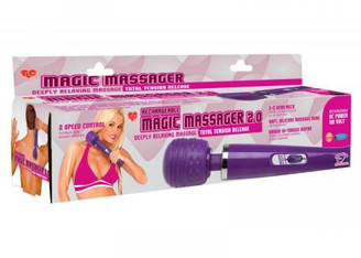 Magic Massager Wand 2.0 Aqua