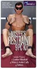 Masters Restraint Bondage Kit