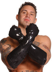 Mens Large Elbow-Length Gloves