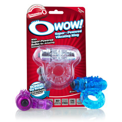 O Wow 6 Pack of Cock Rings by Screaming O