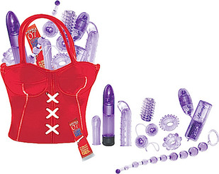 Party Girl Sex Toys In The Bag Red