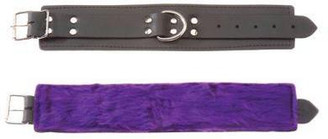 Ankle Restraint Purple Fur