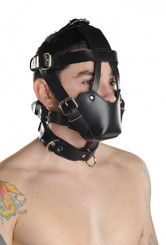 Strict Leather Padded Muzzle Bondage Gear
