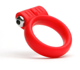 Tantus Vibrating Cock Ring Red