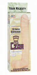 The Czar 12 Inch Emperor Huge Dildo
