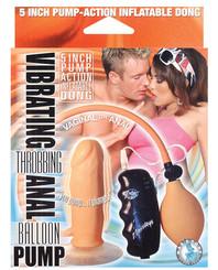Throbbing Anal Balloon Pump Flesh Inflatable Dong