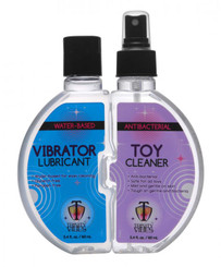 Trinity Vibrator Lube and Sex Toy Cleaner Set