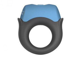 Ultra Zone Polar Night Vibrating Silicone Cock Ring