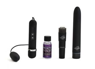 Black Magic Pleasure Kit - 3 Vibrators