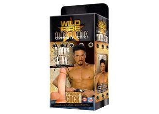 Wildfire Celebrity Series Tommy Gunn's CyberSkin Cock Dildo