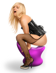 Fetish Fantasy Vibrating Rocking Sex Chair (VIDEO)