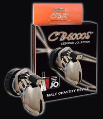 CB-6000 Male Chastity Chrome Cock Cage