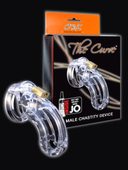 CB-6000 Male Chastity The Curve 3 3/4 in Cock Cage