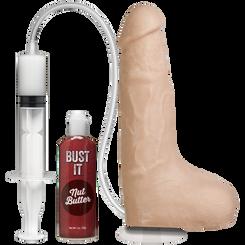 Vac-U-Lock Bust It 9 inch Squirting Dildo - Vanilla