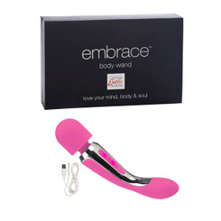 Embrace Body Wand Massager Vibrator Pink