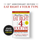 (NEW) Eat Right for Your Type Book