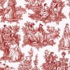 Red Toile Faix China