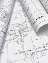 Architectural Drawing Paper Prints