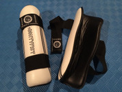 Premium PU shin guards