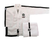 Onyx Black Belt Instructor dobok