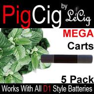 Menthol MEGA Cartomizers - 5 Pack