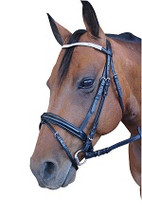 Diamante Browband Hanoverian Bridle