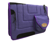 Calgary Stockmans Wool Saddlecloth With Pockets