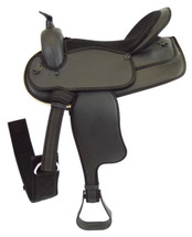 Status Mens Synthetic Western Saddle