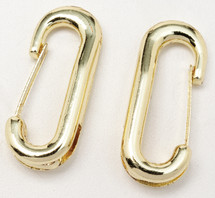 Bit And Headstall Clips Brass Plated
