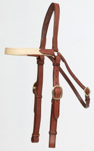 Oregon Padded Browband  Barcoo Bridle
