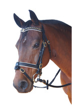 Oxford Royal V Padded Browband Crank Bridle