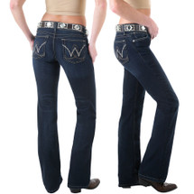 "Wrangler Womens Premium Patch Booty Up ""Carolina Breakaway"" Jean - 10MWZBR"