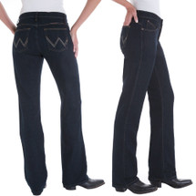 "Wrangler Womens Ultimate Riding Jean - Q'Baby ""Dark Dynasty"" - WRQ20DD"