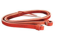 Australian Made Red Hide Reins