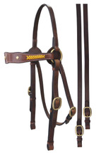 Calgary Leather Barcoo Bridle With Lacing Detail