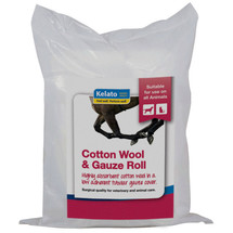 Kelato Cotton Wool & Gauze Roll