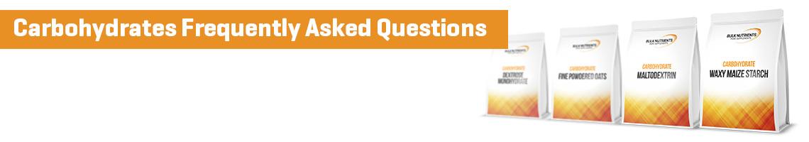 Carbohydrates FAQ
