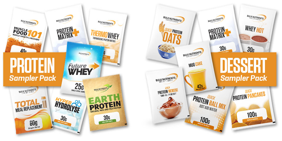 Sample our protein products!