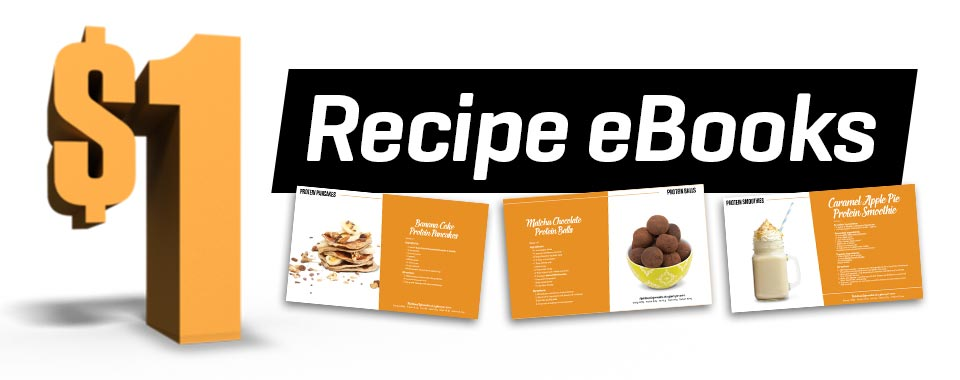 Protein Recipe eBooks are here!