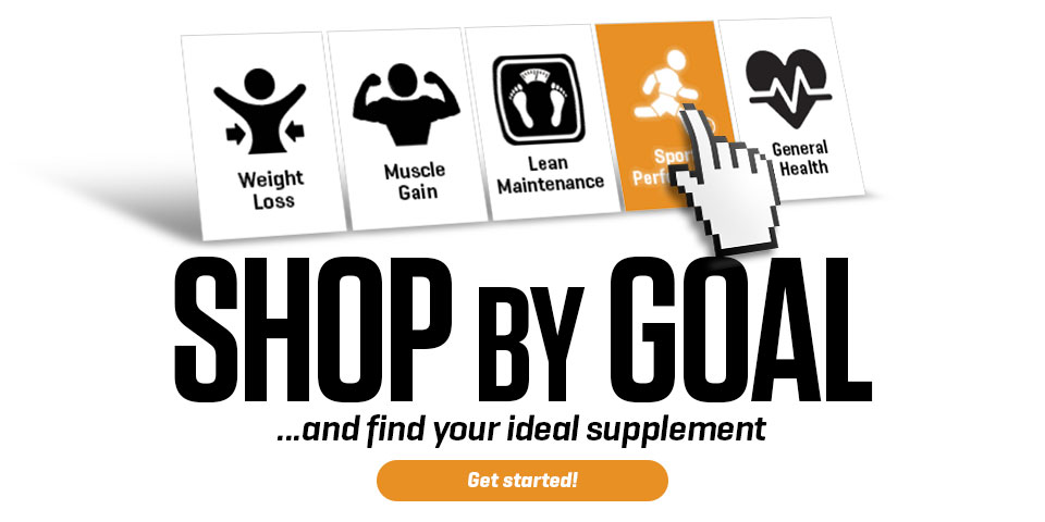 Shop by goal and find your ideal supplement
