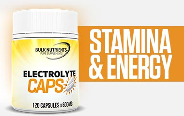 Electrolyte Caps can be beneficial to strength and endurance athletes