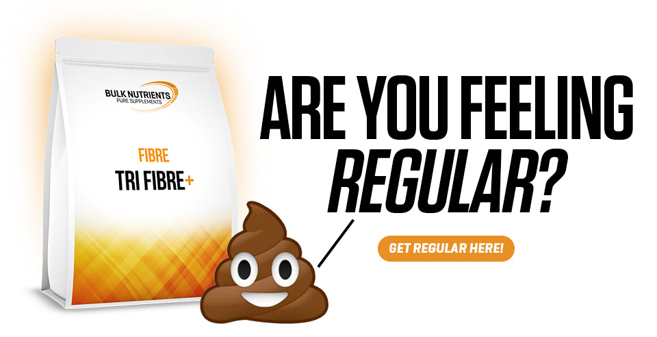 If you need help with your regularity, Bulk Nutrients' Tri Fibre+ could be just what you're looking for!