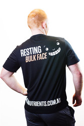 Bulk Nutrients Limited Edition T-Shirt - Resting Bulk Face!