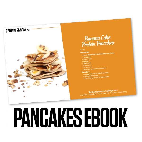 Bulk Nutrients' Recipe eBook - Pancakes