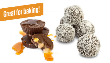 Protein Balls are great for baking with