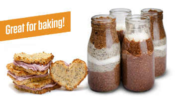 Natural WPI is great for baking with