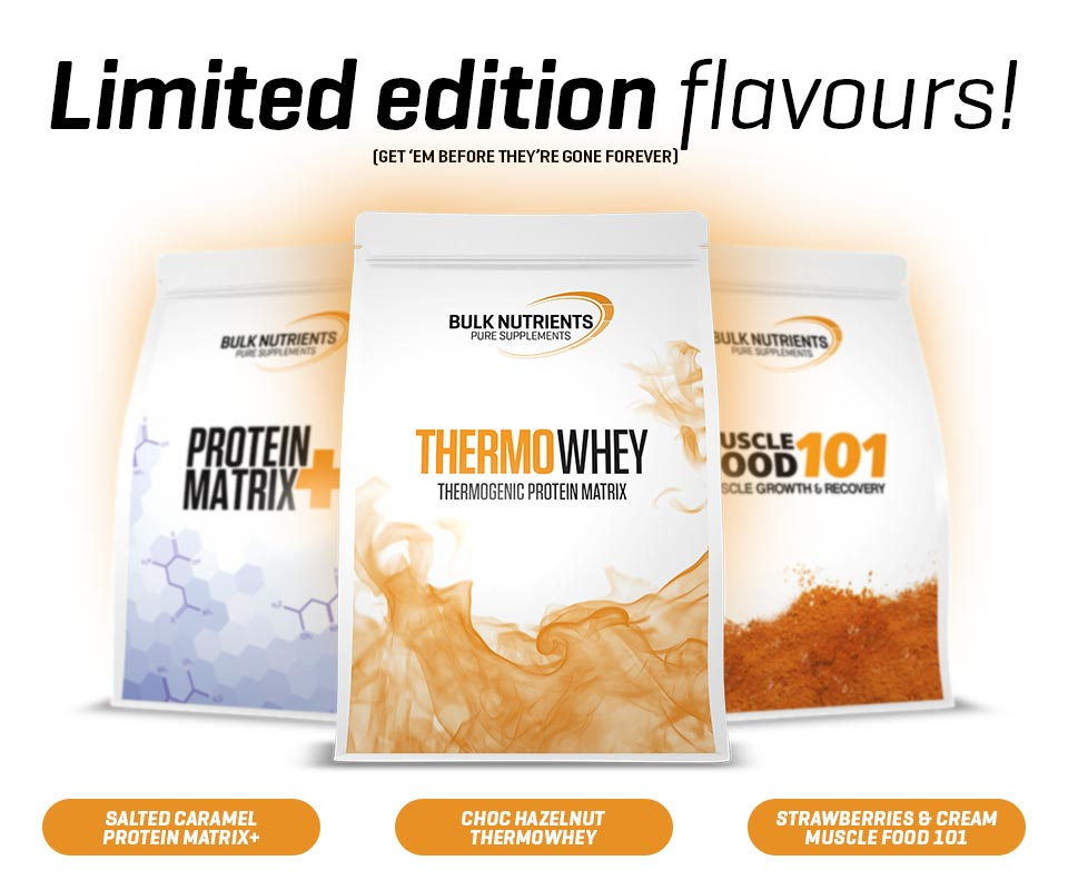 Limited Edition Protein Flavours