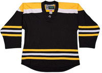 NHL Uncrested Replica Jersey DJ300 - Boston-Black-SR