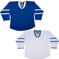 NHL Uncrested Replica Jersey DJ300 - Toronto Maple Leafs